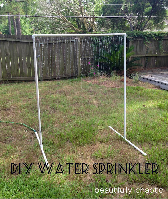 DIY PVC Water Sprinkler
