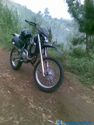 Yamaha Scorpio 2006 modif trail