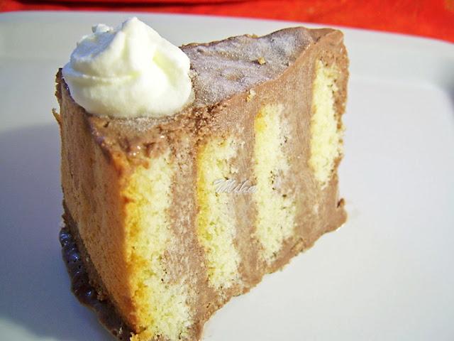 "Tort ""Spirala cu inghetata"""