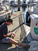 replacing anchor chain