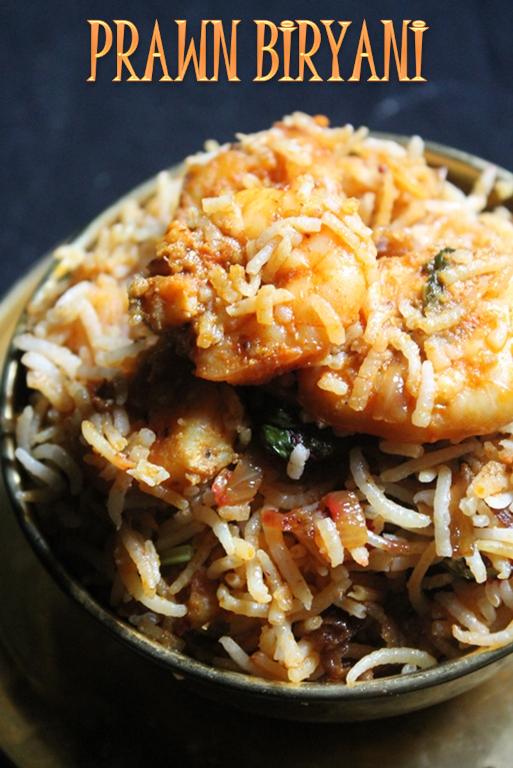 ... Prawn Biryani Recipe / Prawn Dum Biryani Recipe / Shrimp Biryani