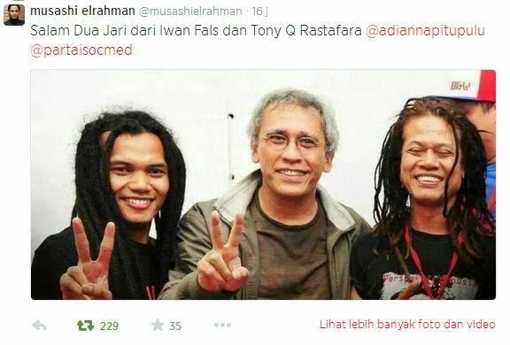 Artis Artis Luar Negeri Dukung Jokowi