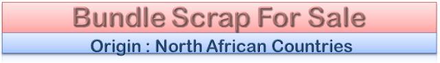 LMS Scrap, Bundle Scrap, India, Sale, Export, Containers