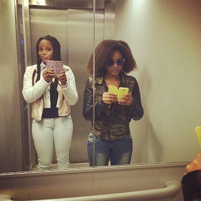 maheeda and 13yr old daughter