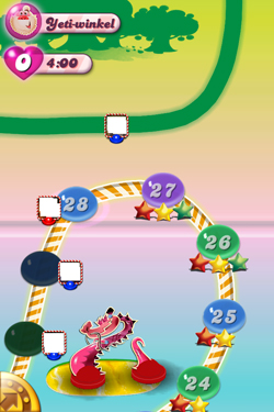 Candy Crush Saga - episodes