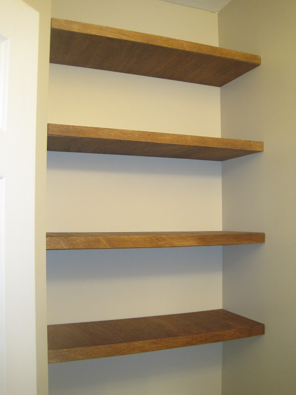 How to Build Floating Wall Shelves