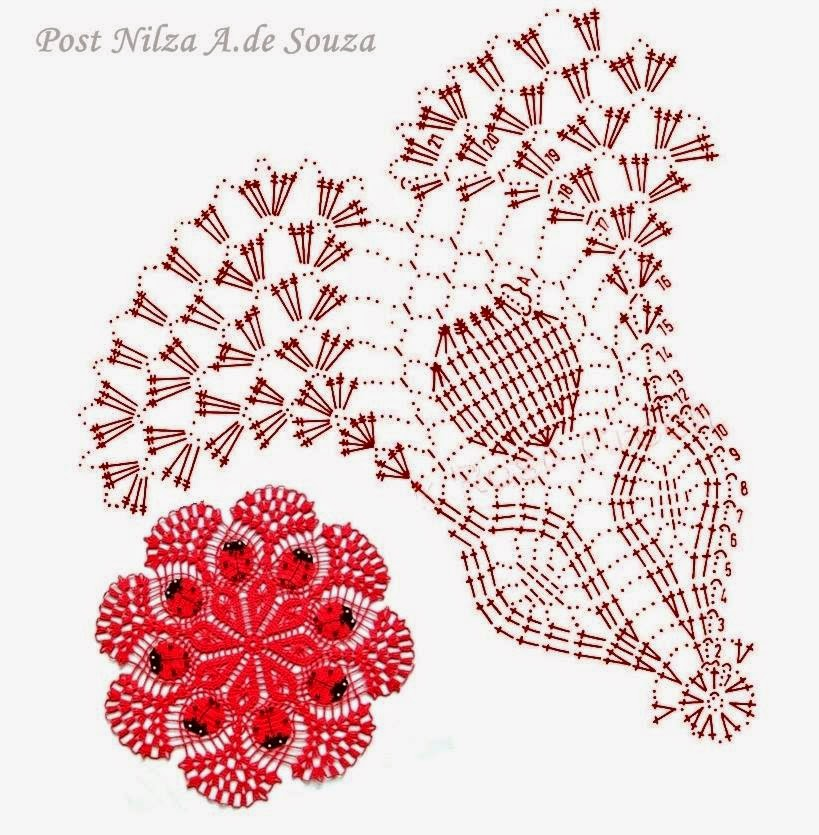 pattern crochet napkins