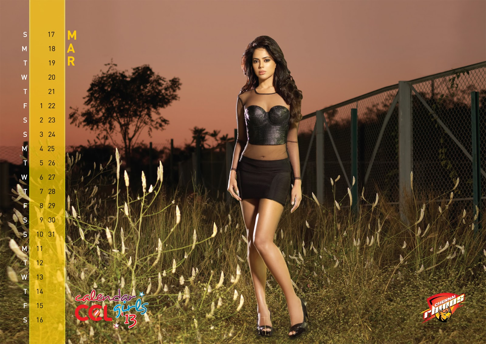 CCL 2013 Calendar Hot Photo Gallery | arunchinni