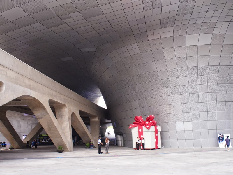 Ewha University Summer Studies Travel Seoul my love from the star exhibition dongdaemun design plaza lunarrive singapore
