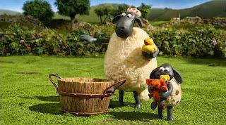 Koyun Shaun Köpek ile Sürüyü Topla