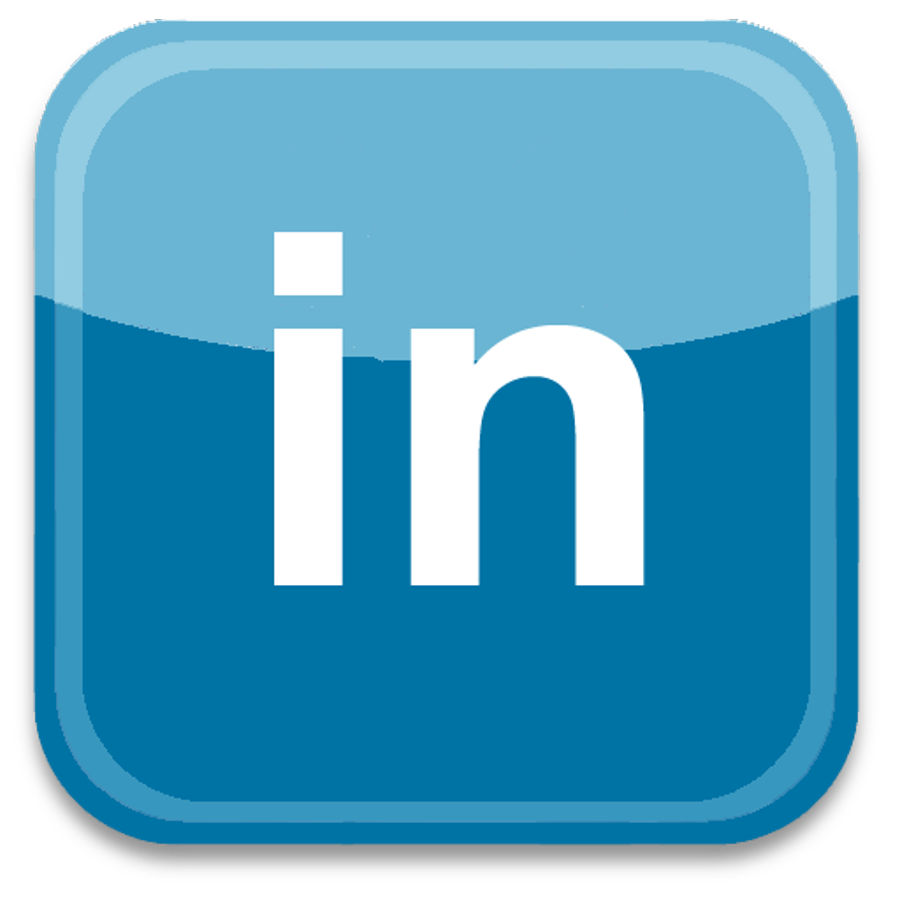 Social Media Logos: LinkedIn and Pinterest Logos