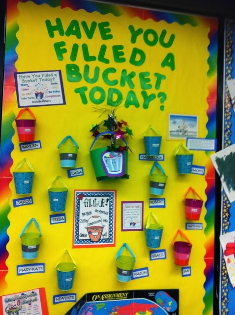 Classroom Ideas For Preschoolers ~ Little mrs preschool we are bucket fillers