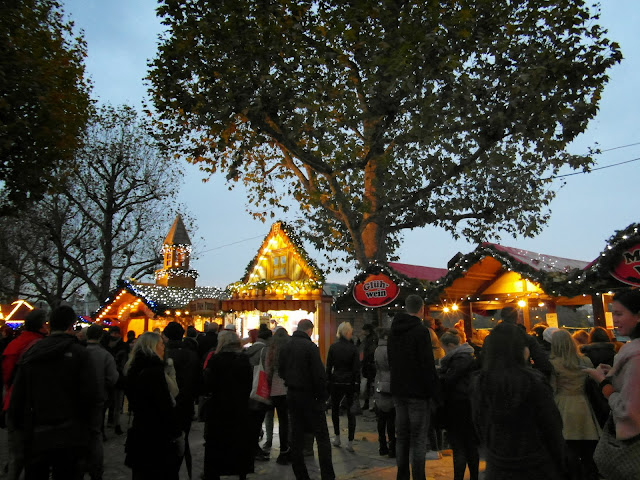 German Christmas Market on the South Bank