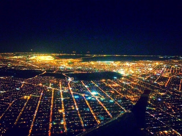 airplane view of NYC, New York City sky view, grid view of New York