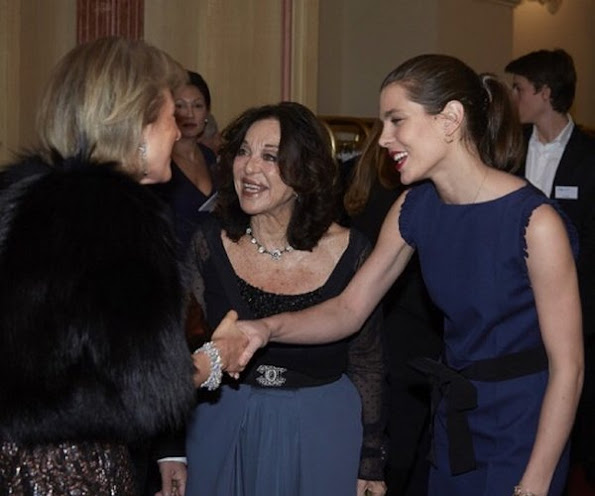 Princess Astrid of Belgium and Charlotte Casiraghi attended a dinner organized by the FXB International Association in Geneva, Switzerland