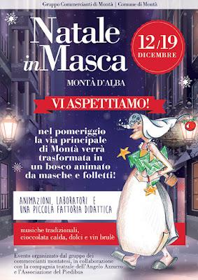 Natale in Masca a Montà d'Alba