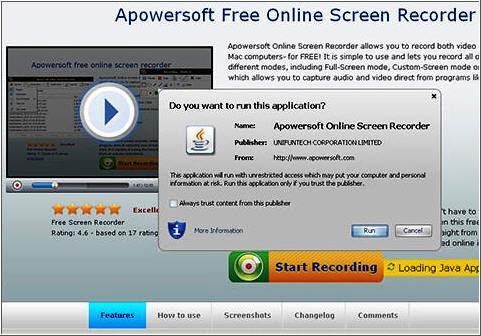 Free Online Screen Recorder