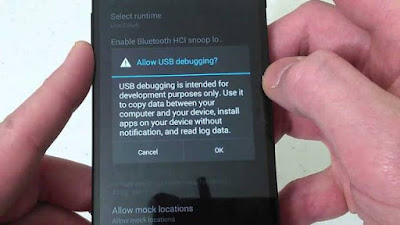 Mengaktifkan Mode Debugging di semua Android