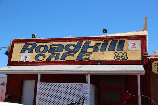 roadkill cafe seligman
