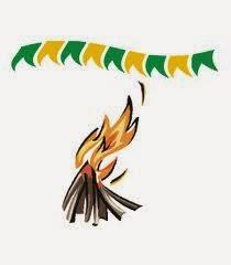 pular fogueira
