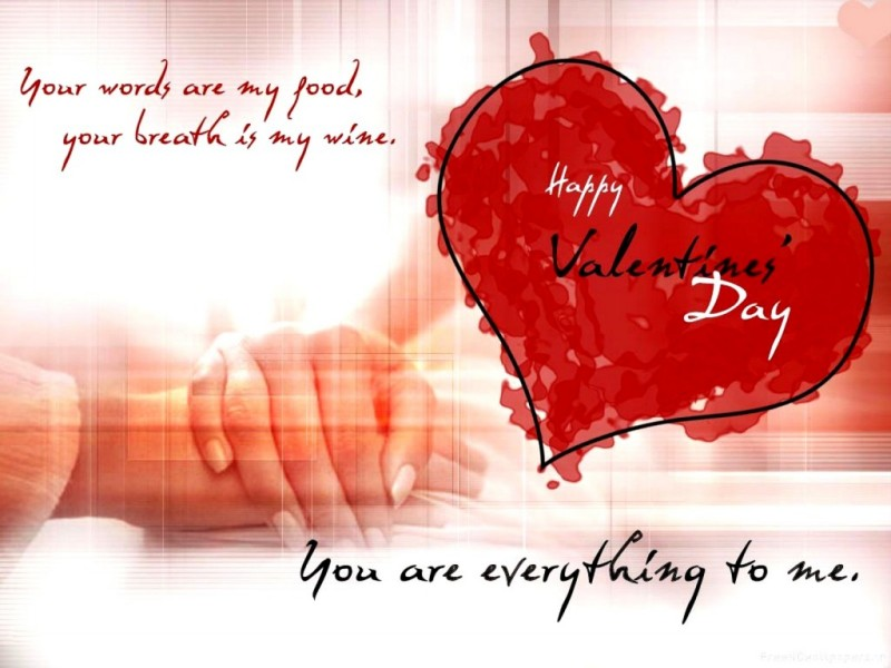 Valentines Day Greeting Card Messages For Friends – Card Messages for Valentine Day