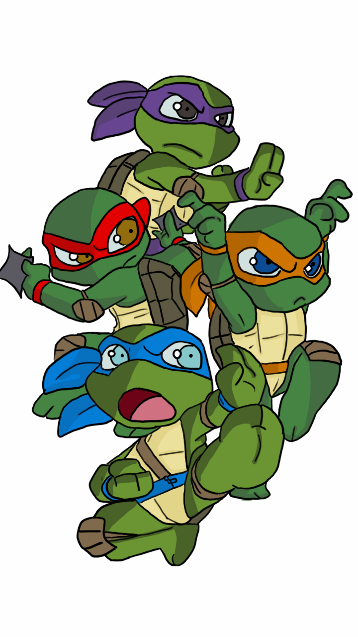 Pics For > Cute Cartoon Baby Ninja Turtles