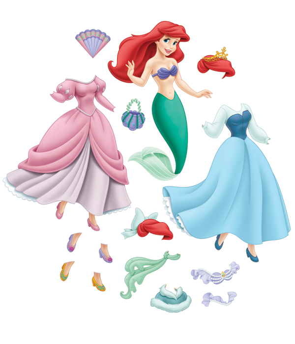 Princess Paper Dolls Car Interior Design Princess Paper