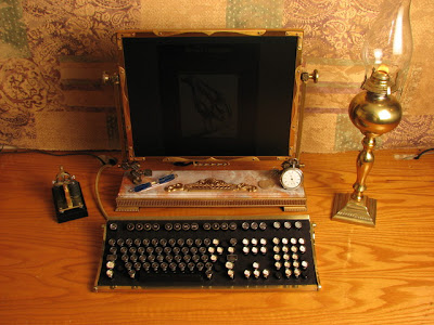 Cool Steampunk Laptop