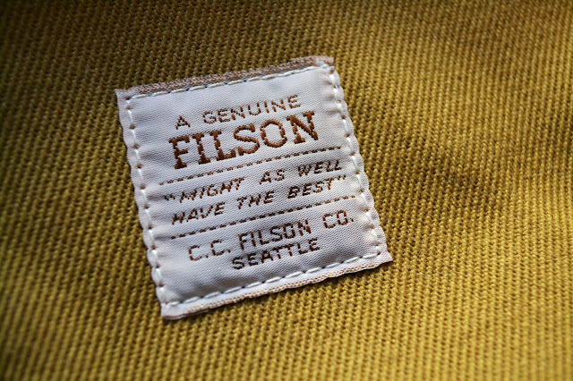 Filson, Might as well have the best