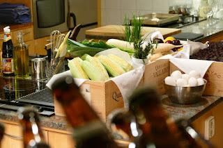 Matlagning i ateljén