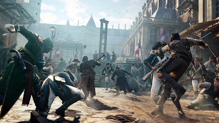 Assassins Creed Revolution Fight