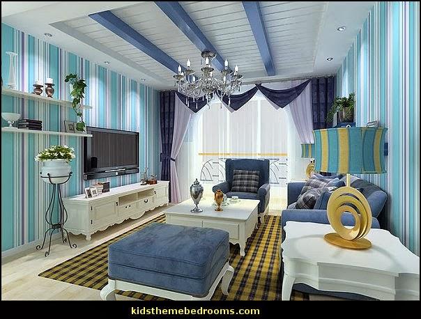 Decorating theme bedrooms Maries Manor beach theme bedrooms