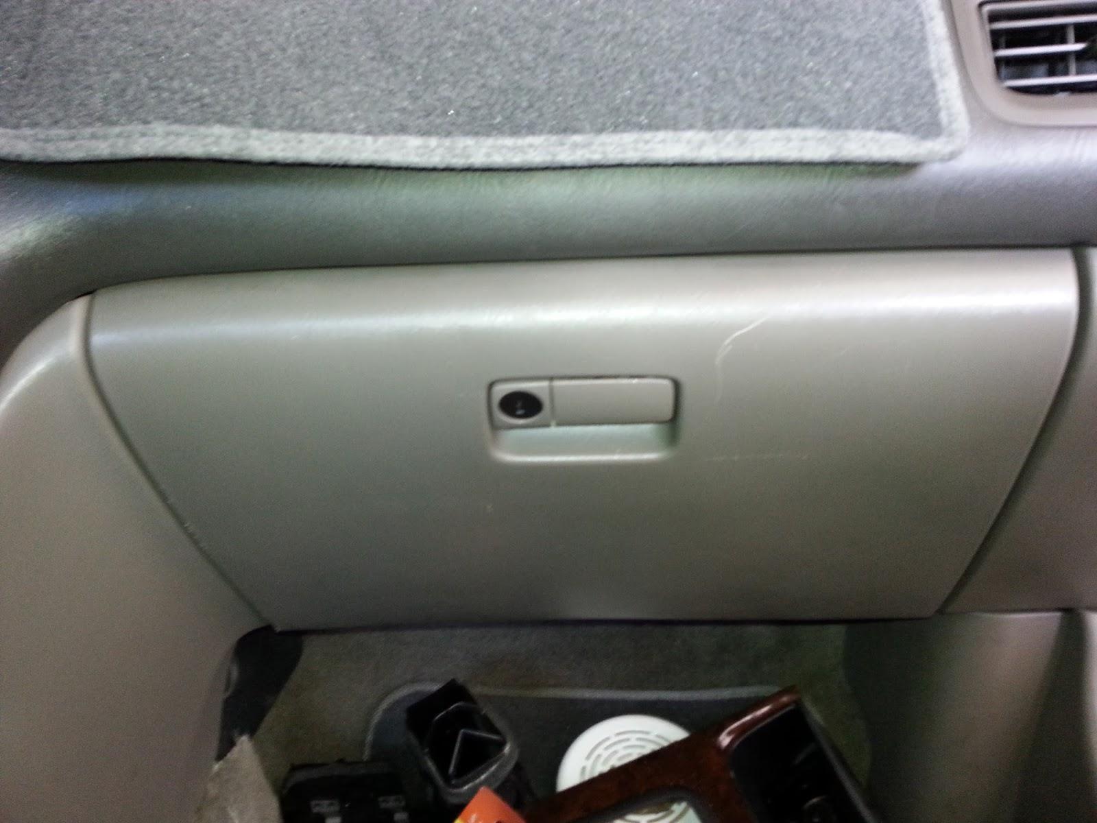 Corolla Diy Diy Replace Cabin Air Filter 2000 Infiniti I30