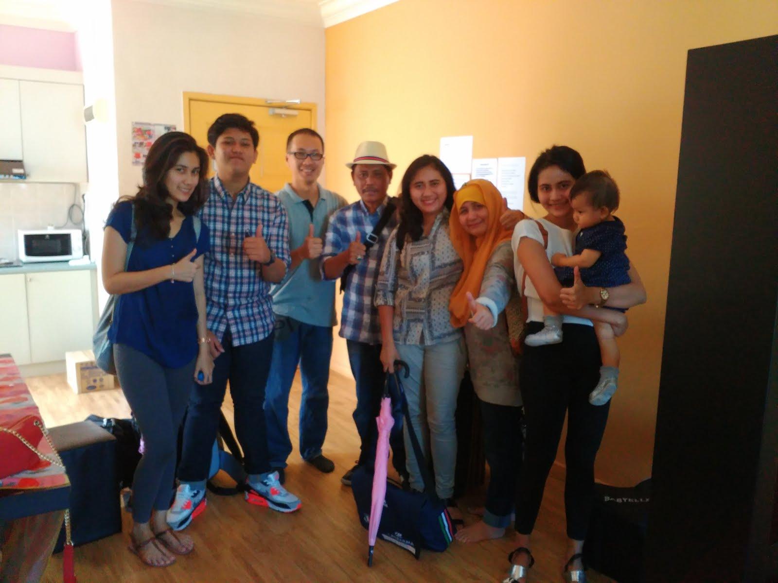 Terima kasih kepada Amelia dari Jakarta