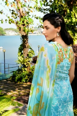 Ayesha Somaya Lawn Collection For Girls