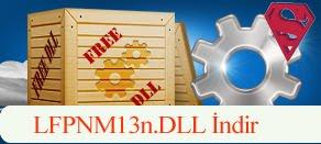 LFPNM13n.dll Hatası çözümü.
