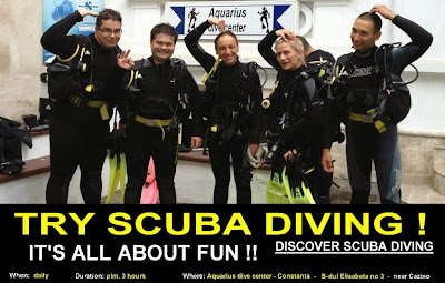 Aquarius Dive Center constanta romania Discover Scuba Diving