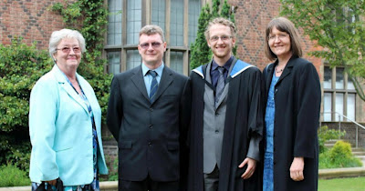 Photo - Proud family at graduation