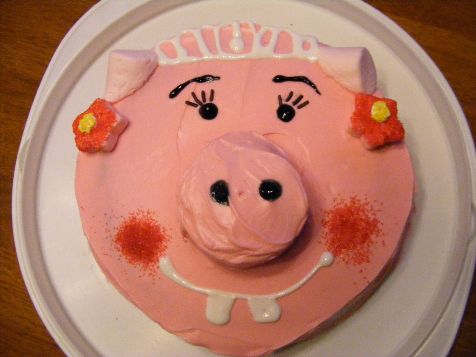 Bacon Time With The Hungry Hypo My Piggy B Day Cake
