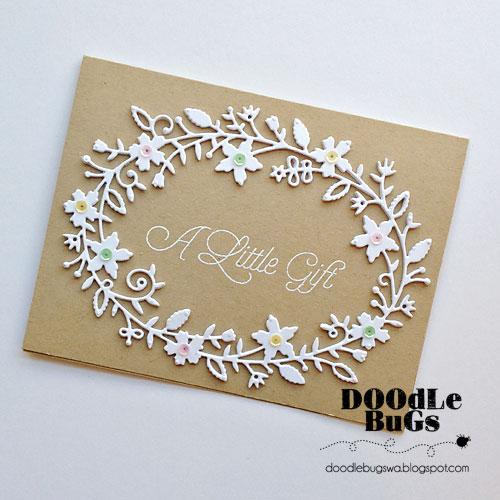 Doodlebugs: Memory Box Fairytale Flower Frame