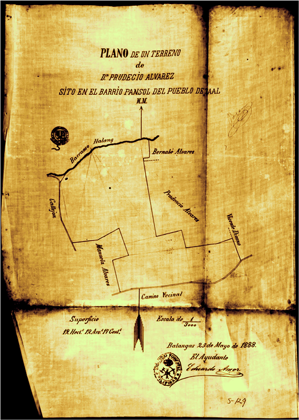 Inspeccion Forestal de Batangas (Manila)