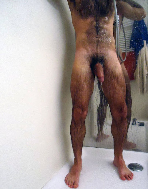 Naked Men In The Shower