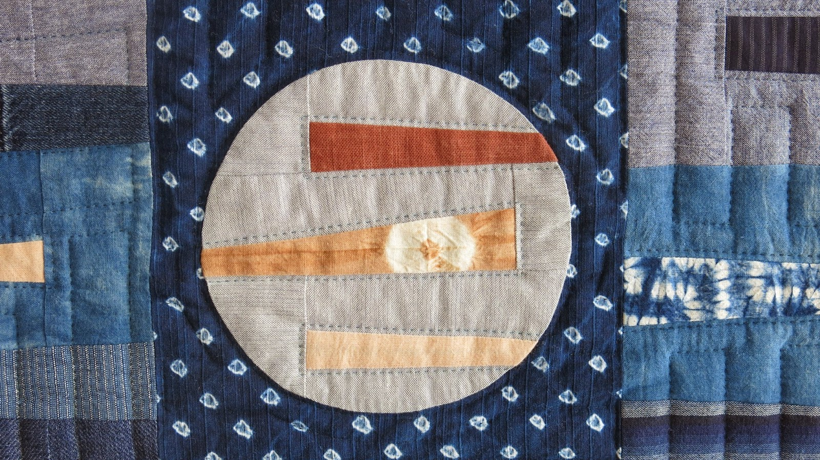 Quiltmania Competition - Indigo - Detail