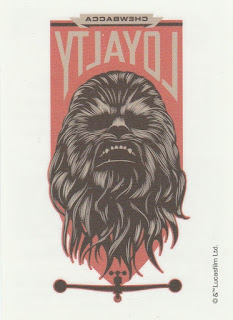 Star Wars tattoo featuring Chewbacca