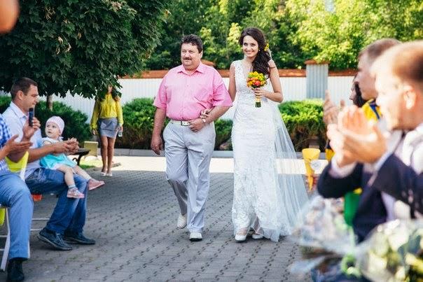 свадебная церемония оформление