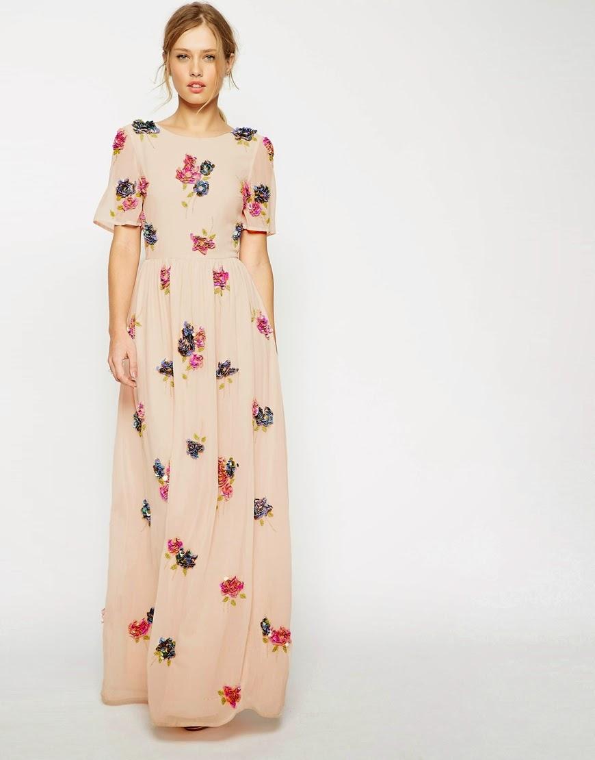 Modest maxi dress pattern