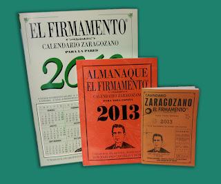 Calendarios Zaragozanos 2013
