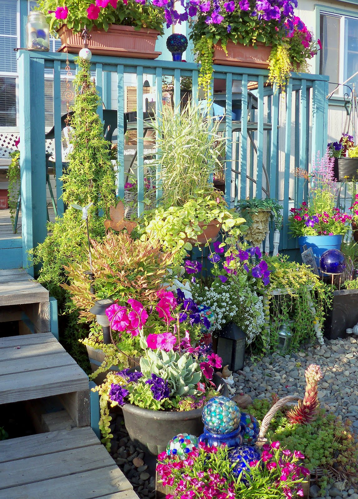 Make The Best of Things Front Deck Flower Planters