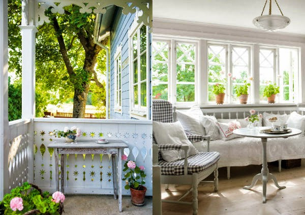 Una Casa Nordica Vintage Y Muy Romantica Oasisingular Of Decoracion - Decoracion-romantica-vintage