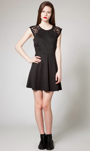 vestido negro Poète Little Black Dress para eventos